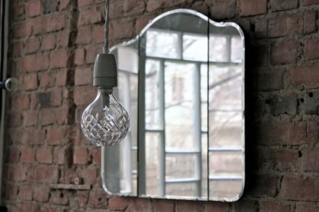 Espejos sin marco vintage para decorar tus paredes