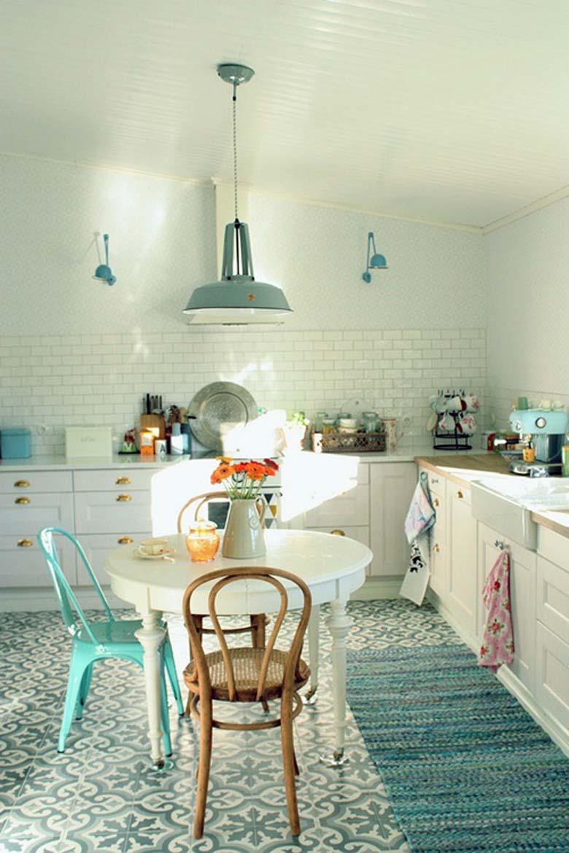 color pastel el secreto vintage para tu cocina